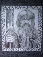 Gimli drawing by loaded88