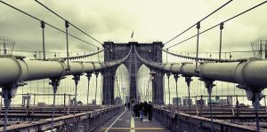 Brooklyn Bridge by F1L1P