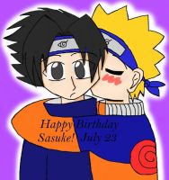 Jenifer-Lily 01 SASUKE'S B-DAY by sasunaru-fans