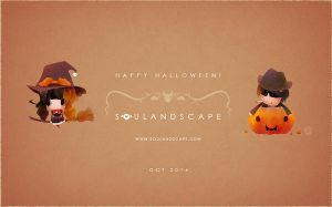 Trick or Treat w/SouLandscape, 2014 by minomiyabi