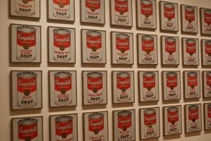 Andy Warhol's Soup Can by darkpeatle202