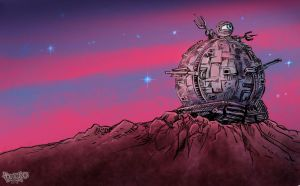 Technodrome by Dasha-KO