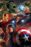 The Avengers by erickenji