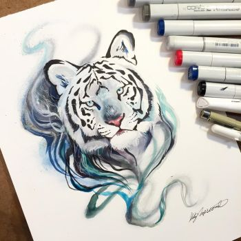 Smokey Tiger by Lucky978