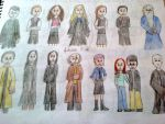 Harry Potter characters by AndressaNerdMuniz