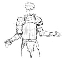 Anime..ish Alistair by mikah1337