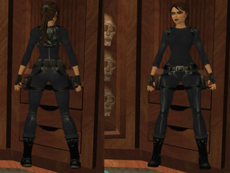 Lara Croft: catsuit by TanyaCroft