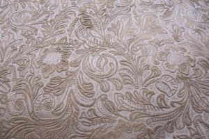 Floral embossed soft design by paintresseye