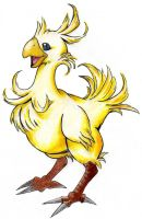 Chocobo by MidnightFlame