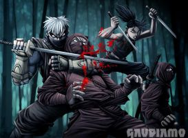 Tenchu Divine Retribution by gaudiamo