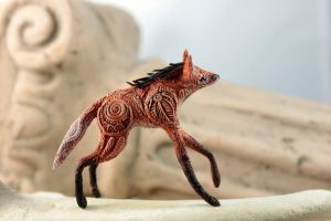 Maned Wolf Totem by hontor