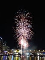Firework at Darling Harbour by aambience
