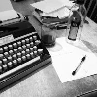 Rum and Writing by Atomic-Taco