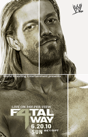 WWE Fatal 4 Way poster by Rzr316