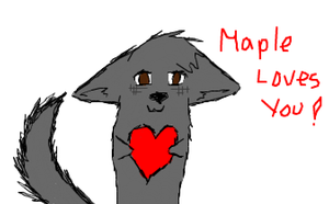 Maple Loves You by GameFreekk
