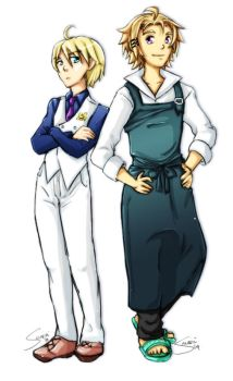 Harvest Moon- Gill and Chase by Sanoshi