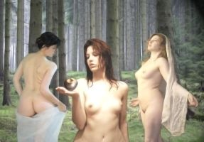 The judgement of Paris by VolpeNucleare