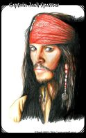 Captain Jack Sparrow by noody666