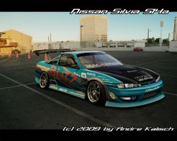 Nissan Silvia S14a by HCy