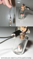 L Holding Misa Cell charm by snoday