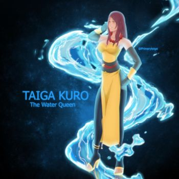 Taiga The Water Queen by Primarytaiga