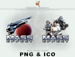 Mass Effect Icons by fredpsycho83