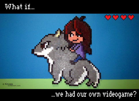 What if we had our own videogame? by Kirvaja