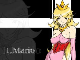 Princess Peach by luvmekoala