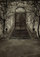 Dark Door BG... by the-night-bird