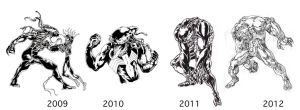 Venom 2009-2012 by ParisAlleyne
