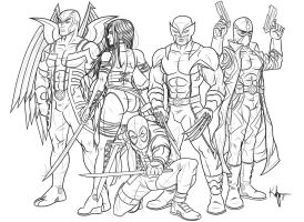 Uncanny X-Force by Kaufee