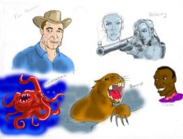 Ted Douglas - Characters by Cybopath