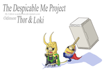 Despicable Tor And Loke by May-Lene