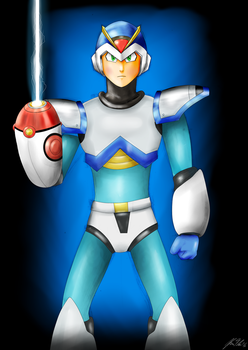 Megaman X by kf13