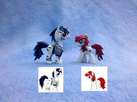 MLP: FiM custom blindbags -2x OC commissions by vulpinedesigns