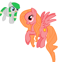 Me And My Mother Pegasi by kathryn8234