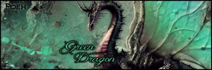 Signature for Green Dragon by WinnieDePoeh