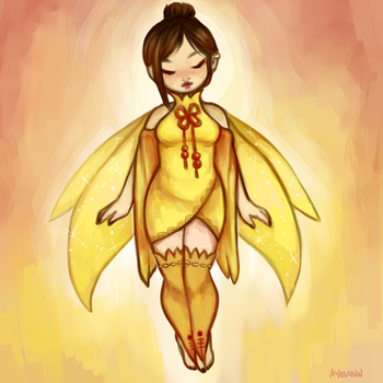 Neopets: FAERIESONA by c-deng