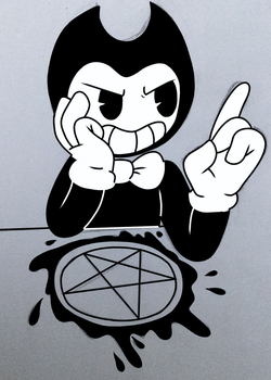 Bendy by darkwatertopaz