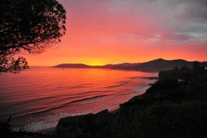 California Sunset by 0149