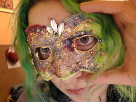 another mask I made by SchatzIna