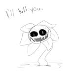 Undertale - Flowey the Murder Flower by Reily96