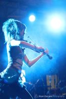 Lindsey Stirling - Blue Lights by Johnson0993