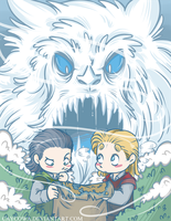 Loki and Thor - Found Him by caycowa