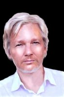 JULIAN ASSANGE by AdmiralDeMoy