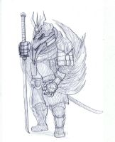 Nonor Warrior by Brollonks