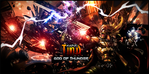 Thor God of Thunder by malekith72