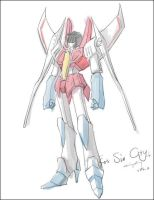 Starscream as a MH in FSS by Seventing