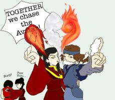 Together we chase the avatar by Schokopocky