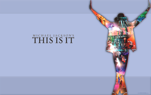 MJ this is it - wallpaper by ssspensserka